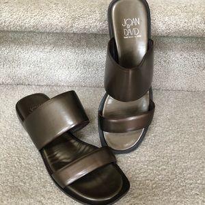 Joan & David handmade in Italy sandals Sz 7 1/2